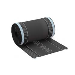 Taśma kalenicowa aluminiowa ROLL ECCO 240mm x 5mb Antracyt [RAL 7021]